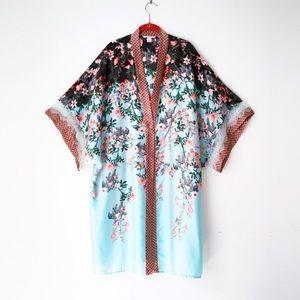 Victoria's Secret Sexy Satin & Lace Kimono / Robe